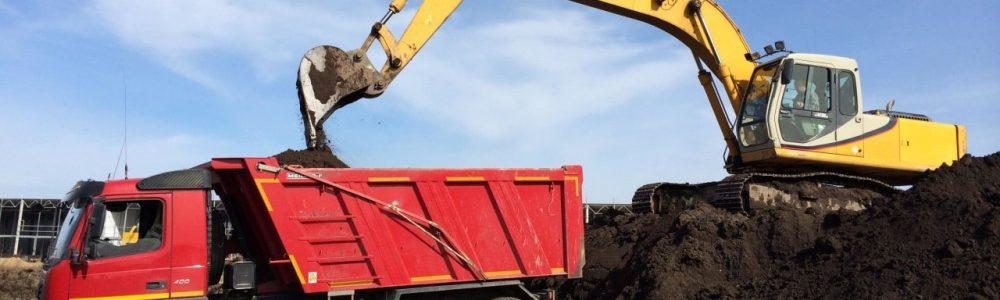 Вывоз грунта самосвалом с погрузкой и утилизацией